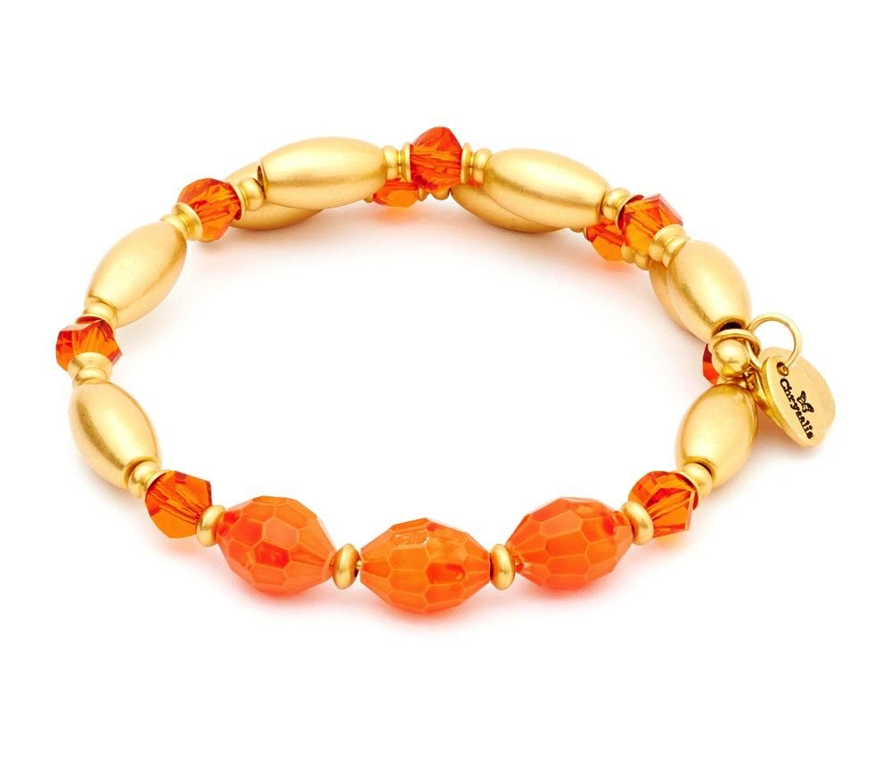 Chrysalis -GAIA Collection-Wrap-Fire-Orange Bangle
