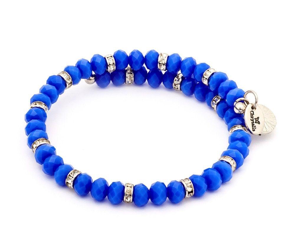 Chrysalis -GAIA Collection-Wrap-Spring Blue Bangle