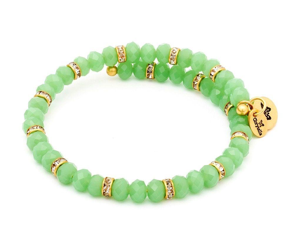 Chrysalis -GAIA Collection-Wrap-Spring Green Bangle
