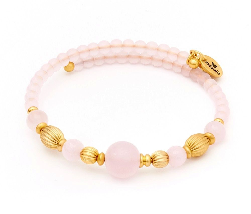 Chrysalis -GAIA Collection-Wrap-Summer-Pink Bangle