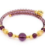 Chrysalis -GAIA Collection-Wrap-Summer-Purple Bangle