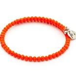 Chrysalis -GAIA Collection-Wrap-Sun Orange Bangle