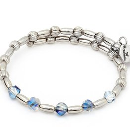 Chrysalis -GAIA Collection-Wrap-Winter Light Sapphire Bangle