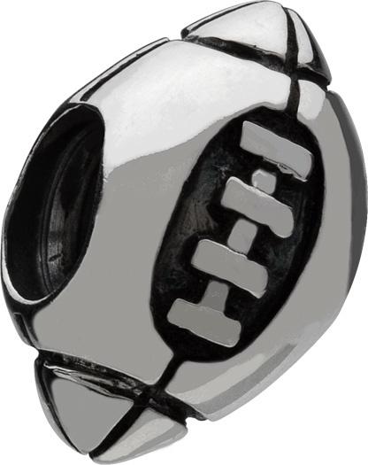 Chamilia Football Bead