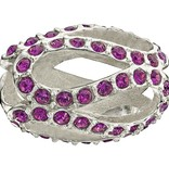Chamilia The Swarovski Collection - Glistening Meander - Amethyst