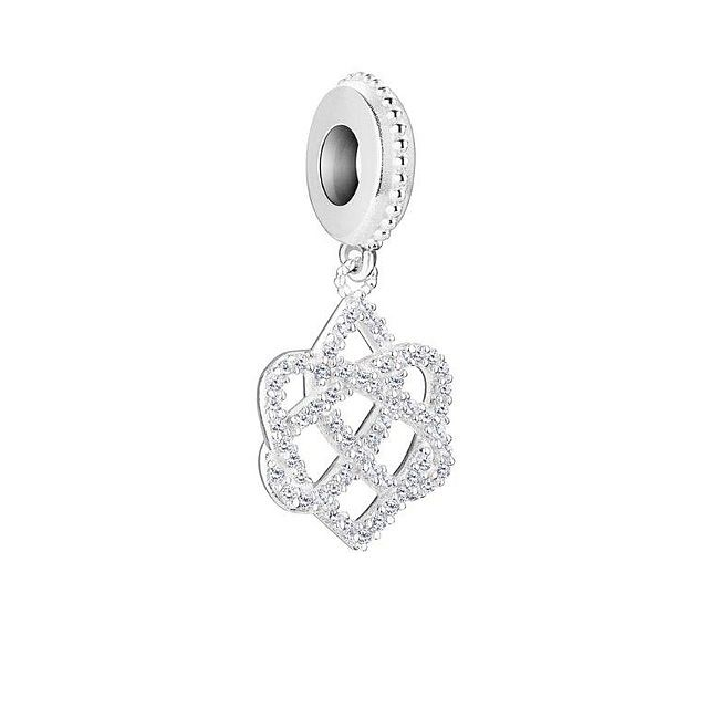 Chamilia Celtic Love Knot - Pure Brilliance Swarovski Zirconia