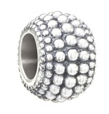 Chamilia Iconic Dot Pattern Spacer Bead - Light Ox