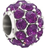 Chamilia Sterling Silver w Stone - Splendor - Purple Swarovski