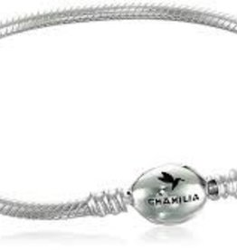 Chamilia Oval Snap Bracelet Sterling Silver 7.1 in