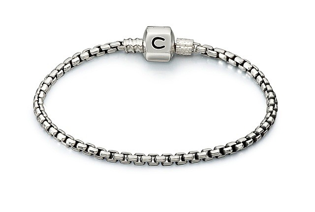 Chamilia Box Chain Bracelet - Oxidized (18cm/7.1 in)