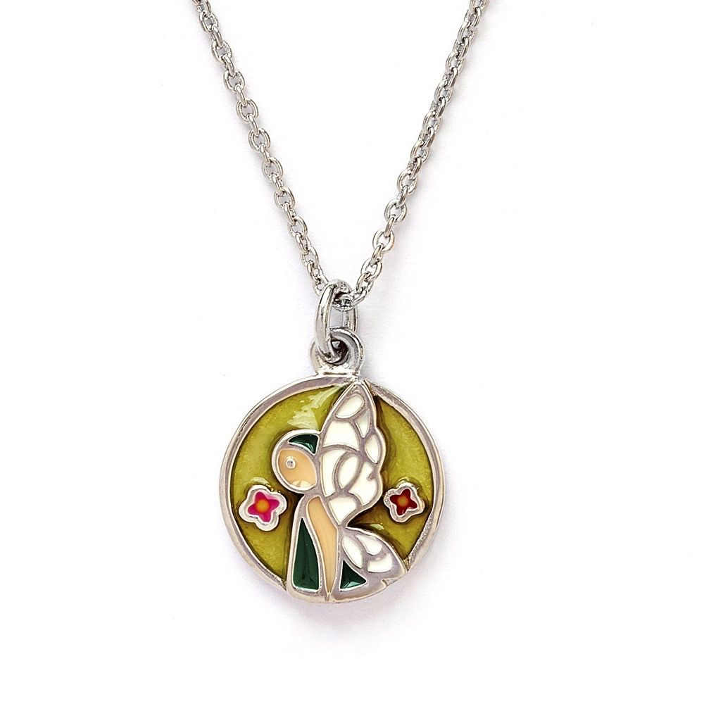 Chrysalis Brass Willow Fairy Necklace
