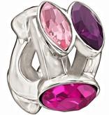Chamilia The Swarovski Collection - Splendid Marquis - Pink and Purple