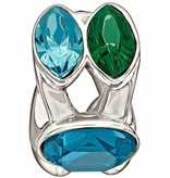 Chamilia The Swarovski Collection - Splendid Marquis - Green and Blue