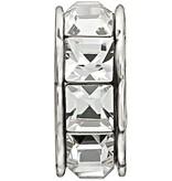 Chamilia Sterling Silver w Stone - Spark - Crystal