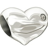 Chamilia Sterling Silver w Stone - Baby's First Steps
