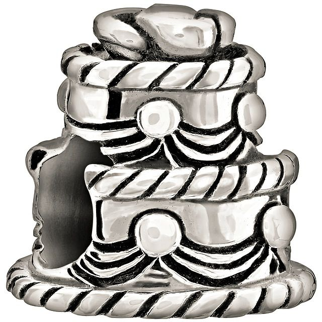 Chamilia Sterling Silver - Wedding Cake