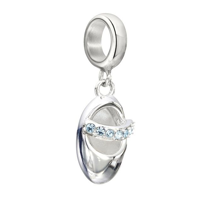 Chamilia Sterling Silver - Twinkle Toes - Aquamarine
