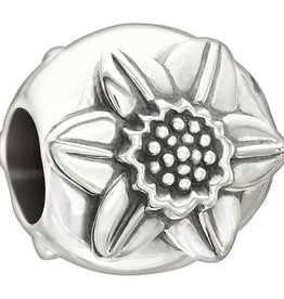 Chamilia Sterling Silver - Flower of the Month - March Daffodil