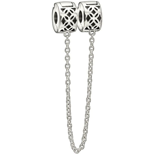 Chamilia Royale Lock with Safety Chain