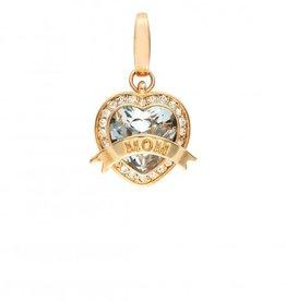 Spartina 449 Mom Heart Charm Crystal