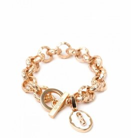 Spartina 449 Toggle Bracelet Gold
