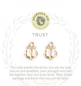 Spartina 449 Sea La Vie Stud Earrings Trust/Anchor