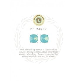 Spartina 449 Sea La Vie Stud Earrings Be Marry/Something Blue