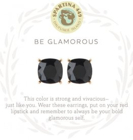 Spartina 449 Sea La Vie Stud Earrings Glarmorous/Black