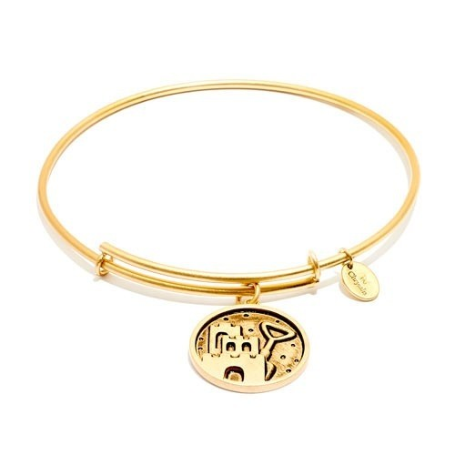 Chrysalis Oceania Collection - Castle & Shovel Expandable Bangle - Gold - Standard