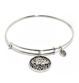 Oceania Collection - Fish Expandable Bangle - Silver - Small