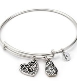 Chrysalis Thinking of You Mother Child-Silver