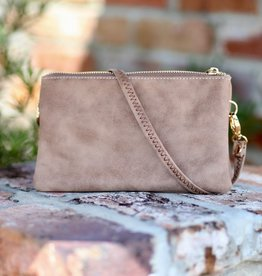 Caroline Hill Liz Custom Crossbody - Pebble