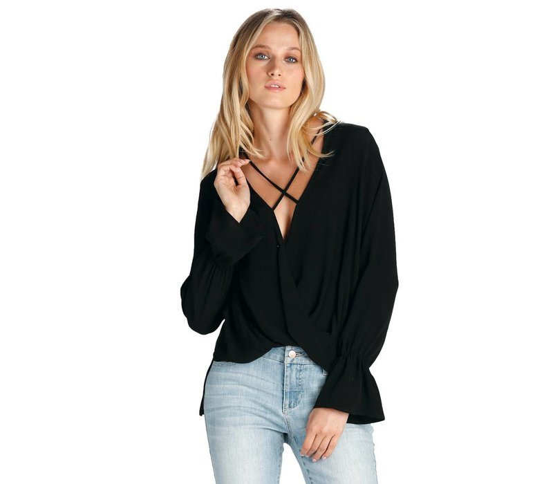 Cross Front and X-Neck Top