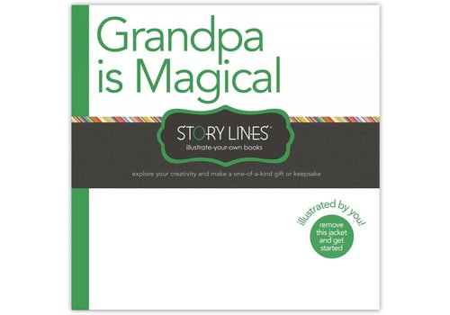 """Grandpa Is Magical""  Book"