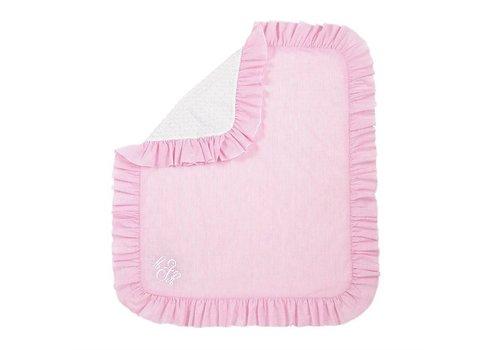 Pink Seersucker Blanket
