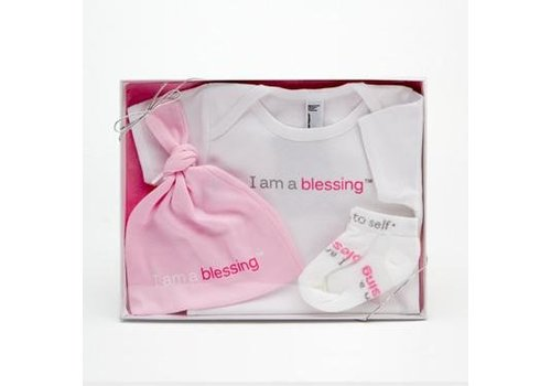 Notes To Self, llc Notes To Self®  Baby Blessing Set - Girls