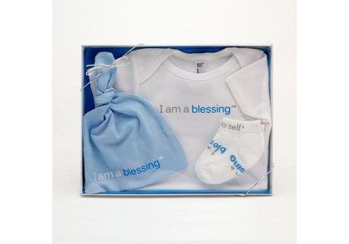 Notes To Self, llc Notes To Self®  Baby Blessing Set - Boy