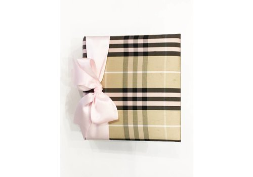 Preppy Plaid Pink Album