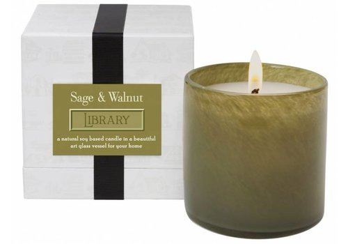 Library | Sage & Walnut Candle