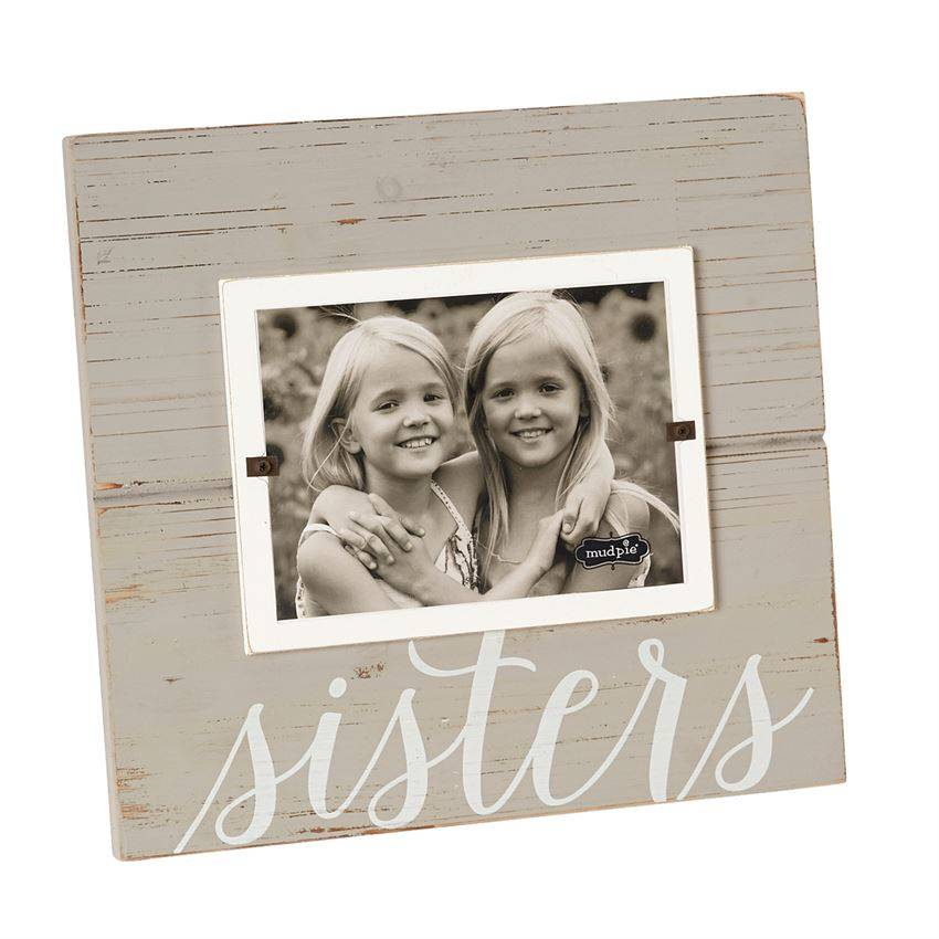 sisters frame - Mud Pie Picture Frames