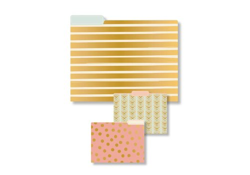 Eccolo Geometric File Folder Collection