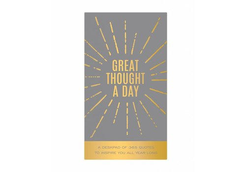 Eccolo Great Thought a Day Notepad