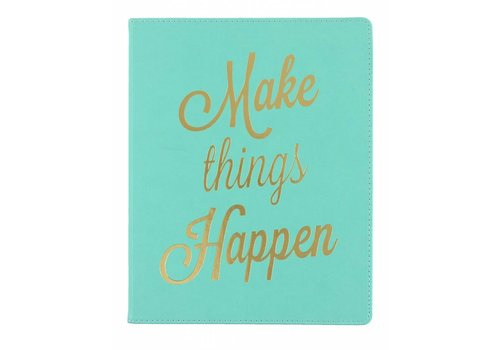 Eccolo Make Things Happen Journal