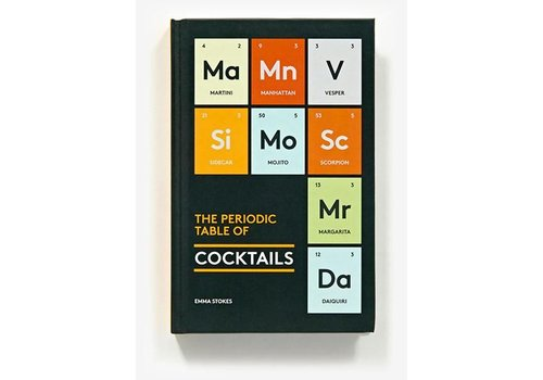 Abrams Periodic Table of Cocktails Book