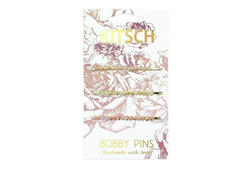 Secret Garden Beaded Bobby Pins