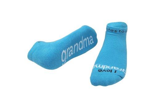 Notes To Self, llc Notes To Self® 'I Love Grandma'® Socks