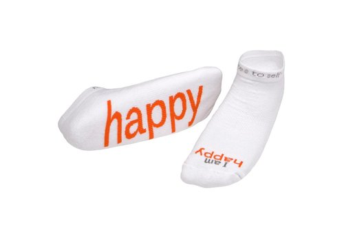 Notes To Self, llc Notes To Self® 'I Am Happy'™ Socks