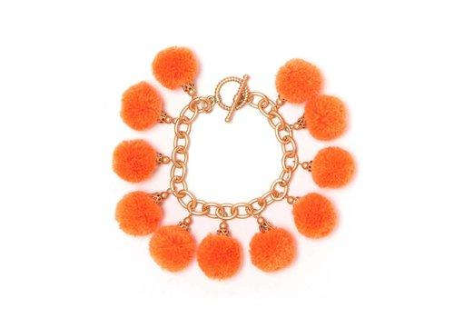 Fornash Fiesta Bracelet - Neon Orange