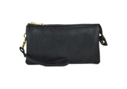 AH!dorned 3-in-1 Solid Purse - Black
