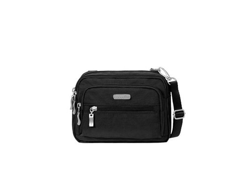 Triple Zip Bagg- Black